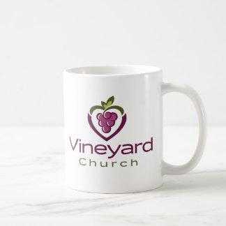 Vineyard Stacked Logo on White - Gift Coffee Mug