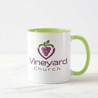 Vineyard Stacked Logo on White - Gift Mug