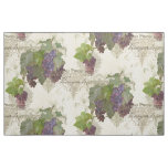 Vineyard Winery Pinot Noir Vintage Stylish Home Fabric