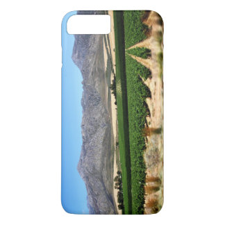 Vineyards and Mountains into Franschhoek, S Africa iPhone 7 Plus Case
