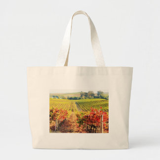 VINEYARDS.JPG LARGE TOTE BAG