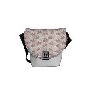 Vingtage Romantic Flower Messenger Bag