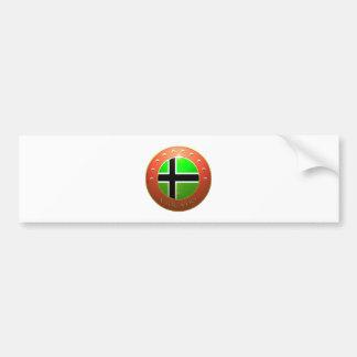 Vinland Flag shield Bumper Sticker
