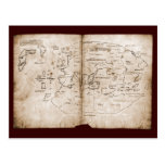 Vinland Map Post Cards