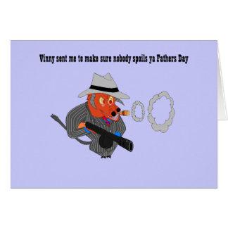 Vinny sent me to make sure nobody s... card