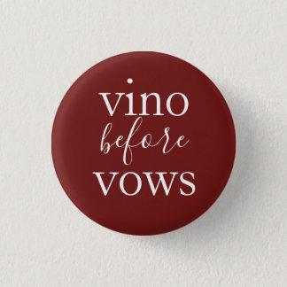Vino before Vows Bachelorette Button
