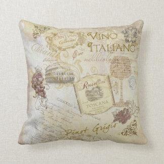 Vino Italiano II Pillow
