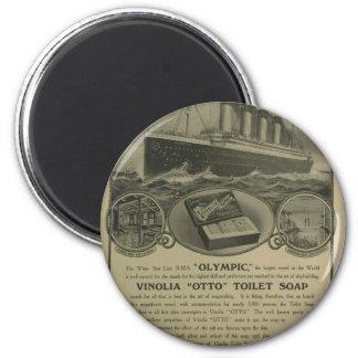 Vinolia Otto Toilet Soap advert 2 Inch Round Magnet