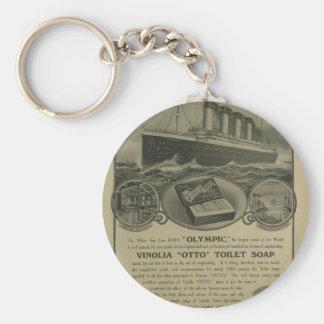 Vinolia Otto Toilet Soap advert Basic Round Button Keychain