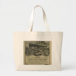 Vinolia Otto Toilet Soap advert Large Tote Bag