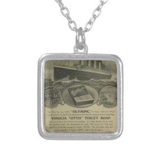 Vinolia Otto Toilet Soap advert Silver Plated Necklace