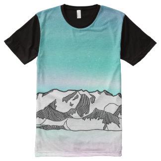 Vinson Massif All-Over-Print T-Shirt