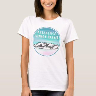 Vinson Massif Antarctica Mountain T-Shirt