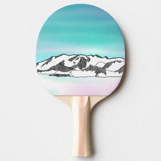 Vinson Massif Ping Pong Paddle
