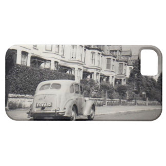 Vintage2 black and white phone case