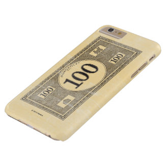 Vintage 100 Dollar Bill Barely There iPhone 6 Plus Case