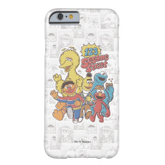 Vintage 123 Sesame Street Barely There iPhone 6 Case