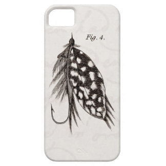 Vintage 1800s Angling Fly Fishing Flies Lure Lures iPhone 5 Case