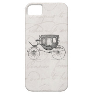 Vintage 1800s Carriage Horse Drawn Antique Buggy iPhone 5 Covers