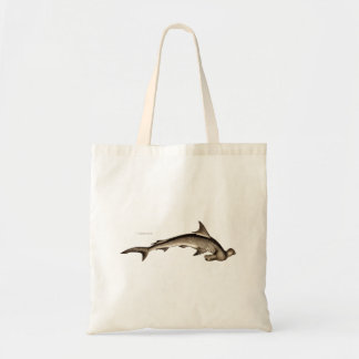Vintage 1800s Hammerhead Shark Old Hammer Head Tote Bag