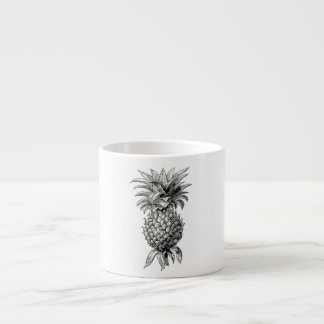 Vintage 1800s Pineapple Illustration Pineapples Espresso Cup