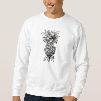 Vintage 1800s Pineapple Illustration Pineapples Sweatshirt