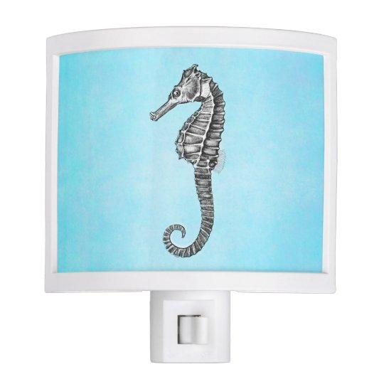 Vintage 1800s Sea Horse Ocean Seahorse Template Nite Lights