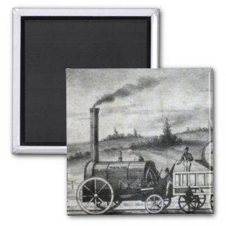 Vintage 1831 Rail Train Bookmark Magnet
