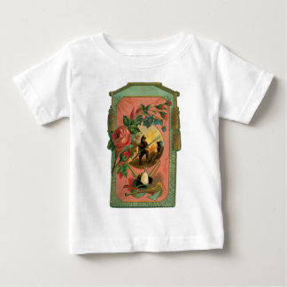 Vintage 1880's Fireman Firefighter Artwork Baby T-Shirt