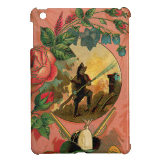 Vintage 1880's Fireman Firefighter Artwork iPad Mini Cover