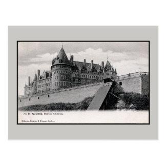 Vintage 1890s Chateau Frontenac Quebec Montreal Postcard