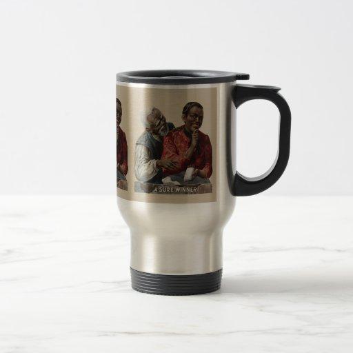 Vintage 1895 Cigar Ad African American Mugs