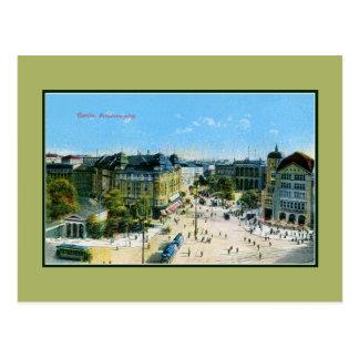 Vintage 1900s Berlin Potsdam Square Postcard