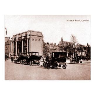Vintage 1900s sepia London photo Postcard