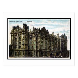 Vintage 1903 Edwardian Midland Hotel Manchester Postcard