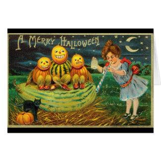 Vintage 1910 Halloween Greeting Card