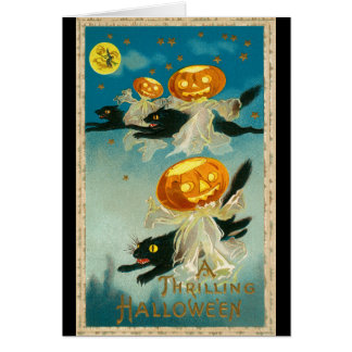 Vintage 1910 Haloween Card
