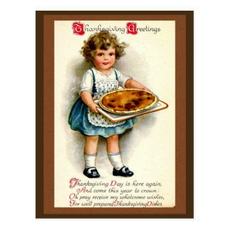 Vintage 1910, Thanksgiving Greetings Postcard