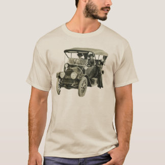 Vintage 1912 Cadillac Automobile with Woman Driver T-Shirt