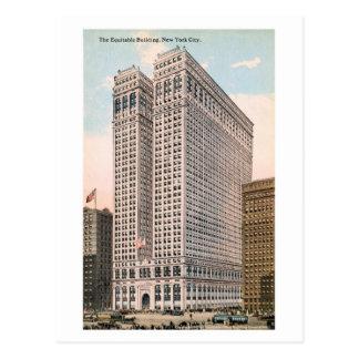 Vintage 1913 Equitable Building, New York City Postcard
