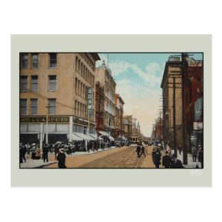 Vintage 1914 Queen Street, Toronto, Canada Postcard