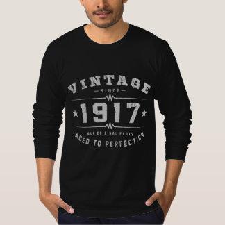 Vintage 1917 Birthday T-Shirt