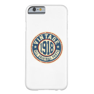 Vintage 1918 All Original Parts Barely There iPhone 6 Case