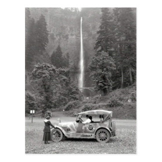 Vintage 1918 Multnomah Falls - Oregon Postcard