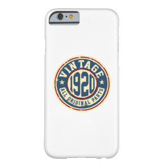 Vintage 1920 All Original Parts Barely There iPhone 6 Case