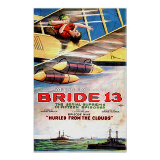 Vintage 1920 Movie Poster