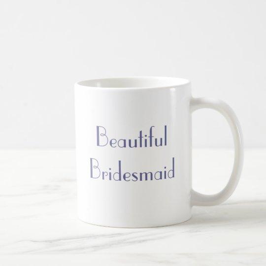 Vintage 1920s Wedding Beautiful Bridesmaid Mug