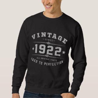 Vintage 1922 Birthday Sweatshirt