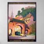 Vintage 1925 La Lorraine Pittoresque French Travel Poster