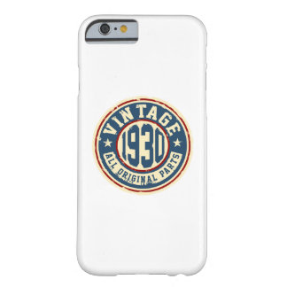 Vintage 1930 All Original Parts Barely There iPhone 6 Case